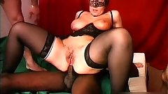 Masked mature need more cocks