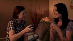 Mature Lesbian Seducing Young Lesbian