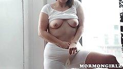 MormonGirlz: Mormon MILF masturbates with vibrator