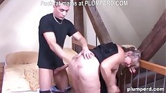 Fat German granny fucked so hard she can't take upon oneself it