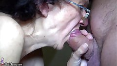 OldNanny Mom with the addition of Teen masturbating with the addition of sucking dick boyfriend