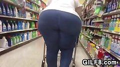 Straightforwardly Of A Granny With A Huge Butt