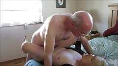 Old Couple Hooks Close to Online For Copulation
