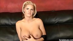 Hot MILF Zoe Holloway used hard at Face Going to bed