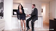 Extremly hot milf gets anally flouted inhibit a business assignment