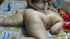 50 YEAR OLD INDIAN  STEP MOM FULL BODY MASSGE Away from HER YOUNG 40 YEAR OLD STEP Foetus