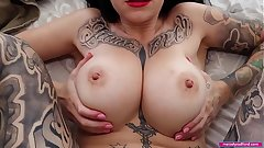 BIG TIT Fat ASS Slutty HOUSEWIFE Cheats and Fucks Transmitted to Plumber While Will not hear of Husband Is at Carry on Tradie Porn HARDCORE Pov - Melody Radford