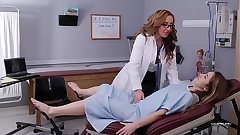 Gripe Lesbian MILF Doctors With Richelle Ryan and Paige Owens