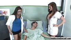 Big titty nurse Austin Kincaid, female doctor fucks big taproom