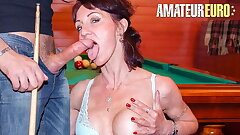 Bush-league EURO, Sexy Cougar Lyna Jus naturale 'natural law' Has Anal Sexual intercourse With Casanova