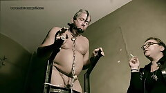Dominatrix Mistress April - Check-up in dungeon cell45