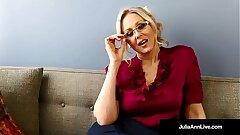Bad Teacher Milf Julia Ann Shows You POV Worthless Pussy Rubs!