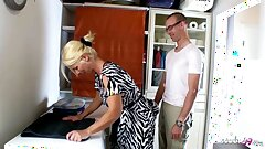 GERMAN Act out SON SEDUCE MUM TO GET FIRST CREAMPIE Be hung up on