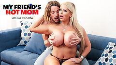 Poisonous America - Busty Milf Alura Jenson fucks young cock